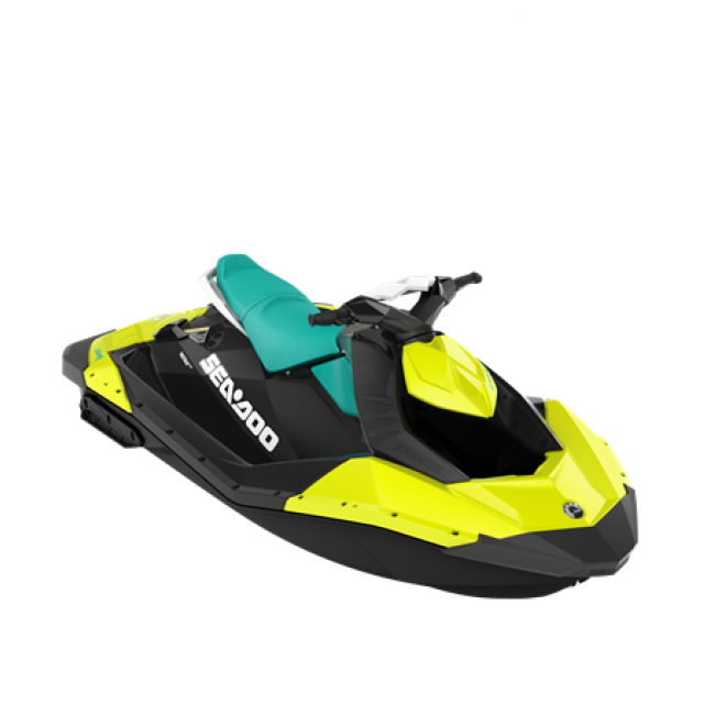 SEADOO SPARK 60hp 2 up Neon Yellow / Reef Blue