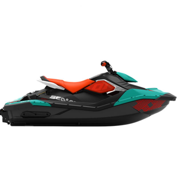 SEADOO SPARK TRIXX 90hp 2 up iBR Reef Blue / Canam Red