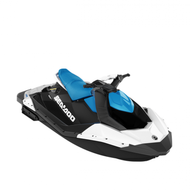 SEADOO SPARK 60hp 2 up White / Gulfstream Blue