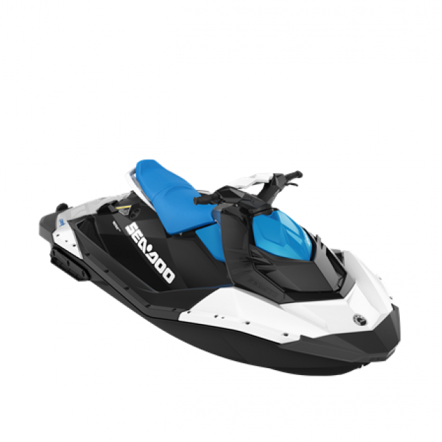 SEADOO SPARK 90hp 2 up iBR White / Gulfstream Blue