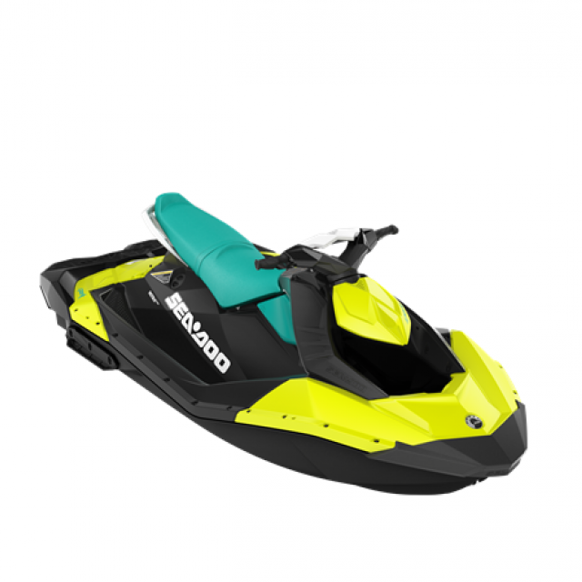 SPARK 90hp 3 up iBR Neon Yellow / Reef Blue