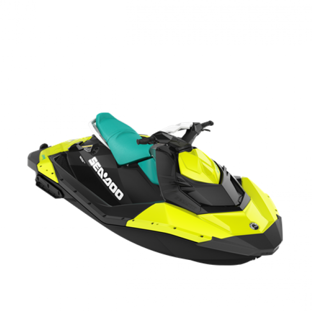 SPARK 90hp 2 up iBR Neon Yellow / Reef Blue