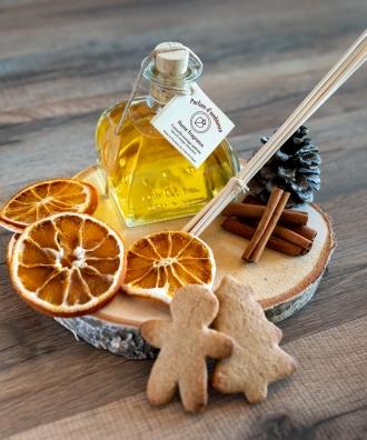 Diffuseur de parfum d'ambiance Cannelle - Orange Ambrée 100ml