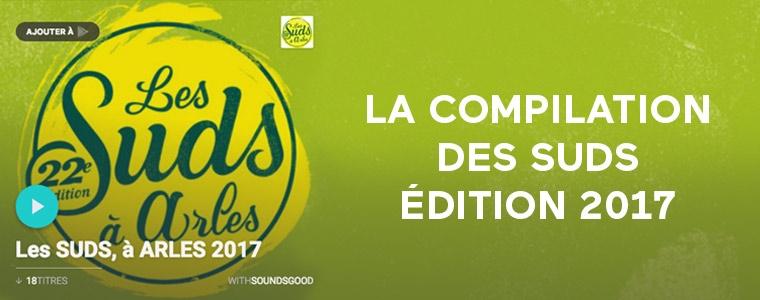 La compilation des Suds - édition 2017