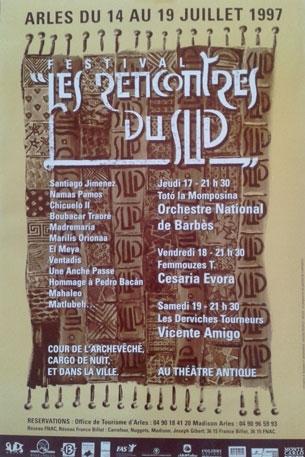 Les Suds à Arles - Affiche 1997