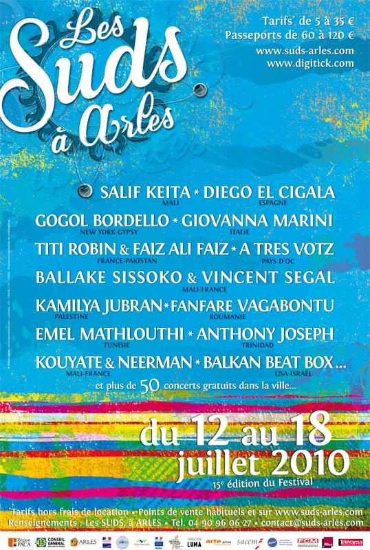 Les Suds à Arles - Affiche 2010