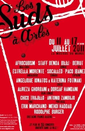Les Suds à Arles - Affiche 2011