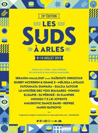 Les Suds à Arles - Affiche 2019