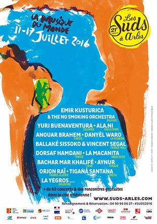 Les Suds à Arles - Affiche 2016