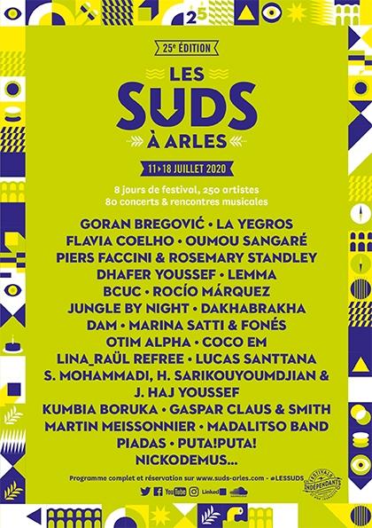 Les Suds à Arles - Affiche 2020